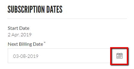Urban Brew update subscription date link