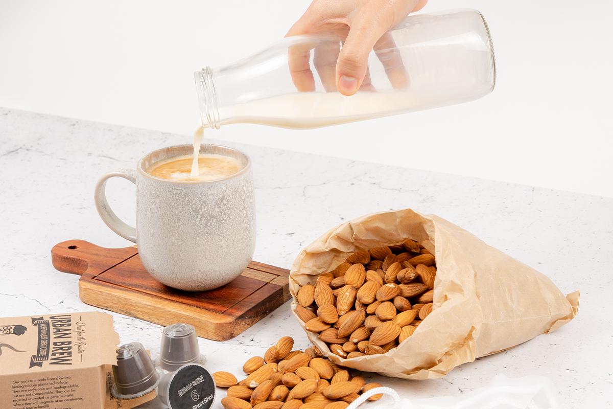 Urban Brew Coffee Pods Almond Milk Recipe