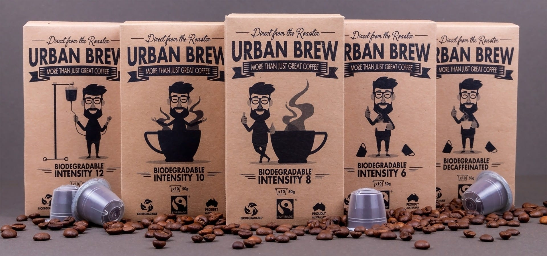 Urban Brew banner image - Nespresso compatible pods