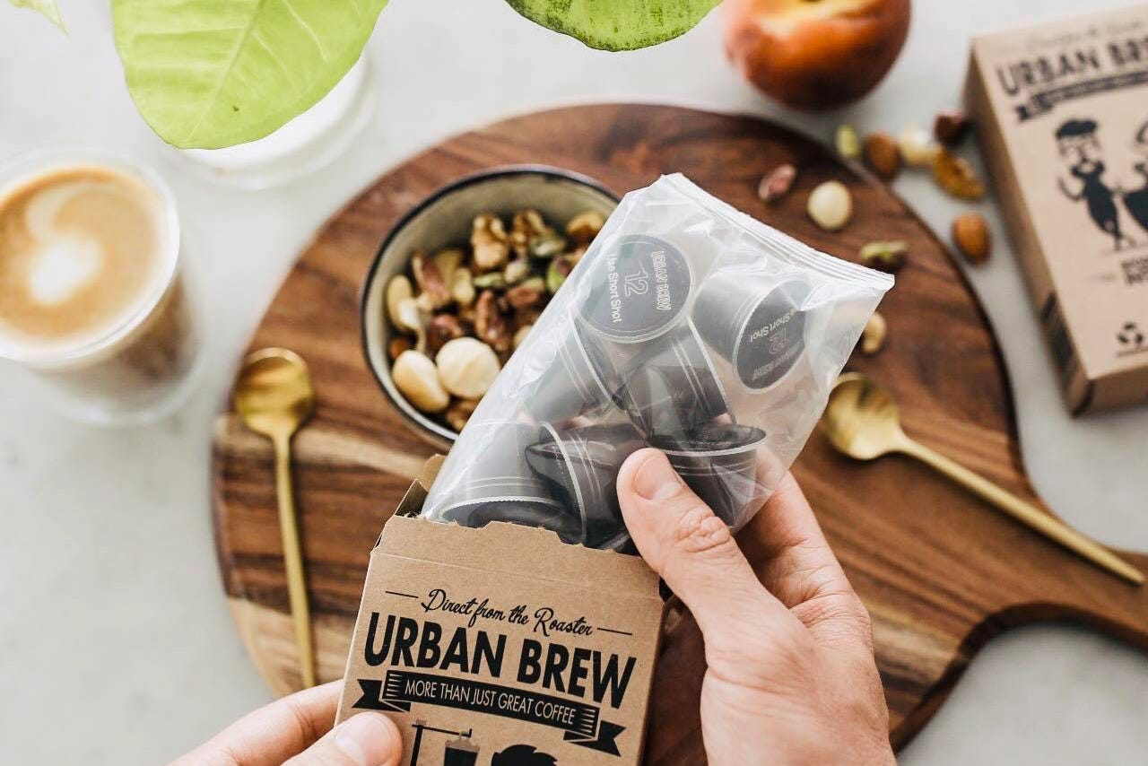 Urban Brew Biodegradable Coffee Pods