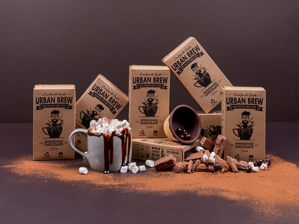 Urban Brew Nespresso Compatible Biodegradable Hot Chocolate Pods