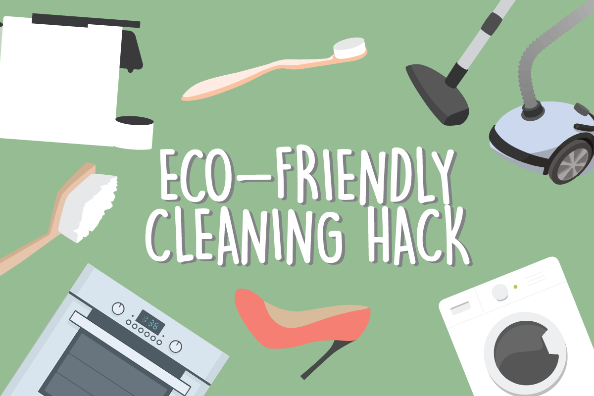Eco-friendly cleaning hack