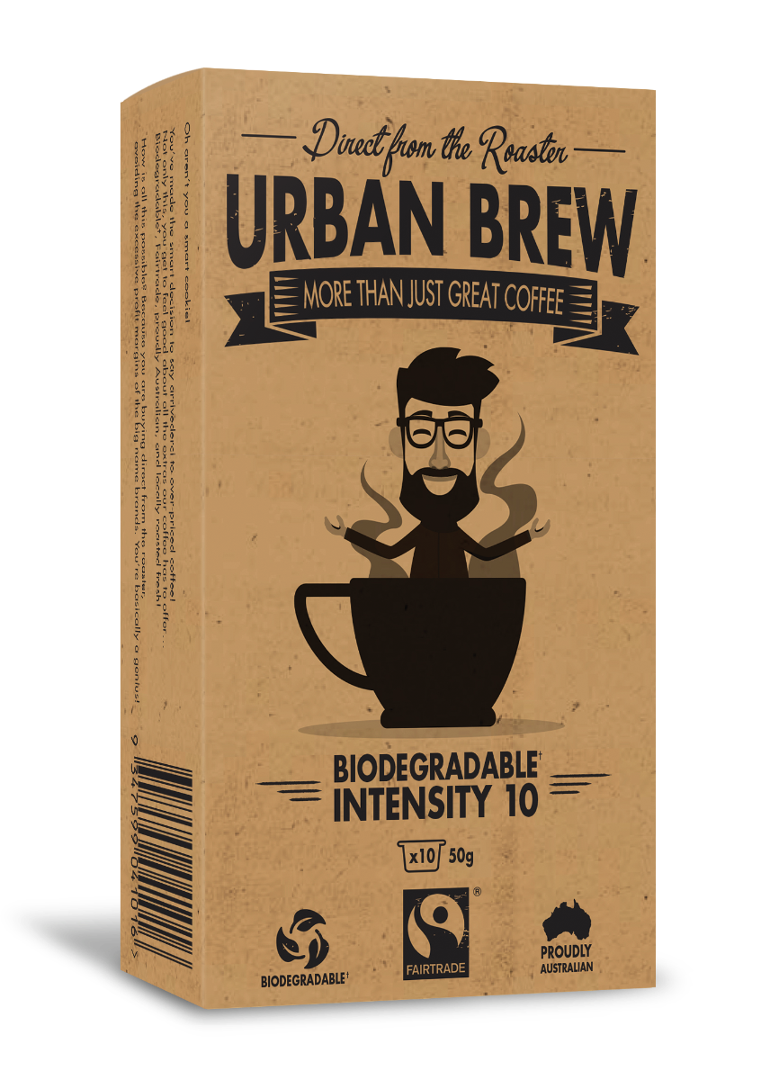 Urban Brew Very Intense #10 Nespresso Compatible pods