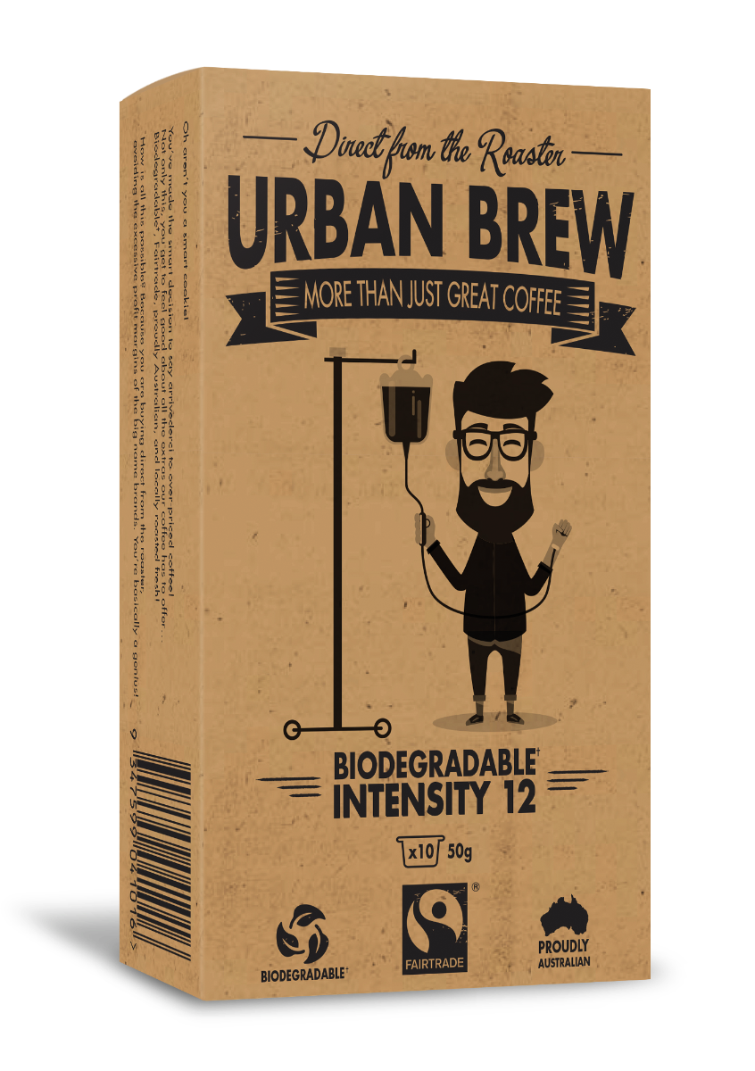 Urban Brew Very Intense #12 Nespresso Compatible pods