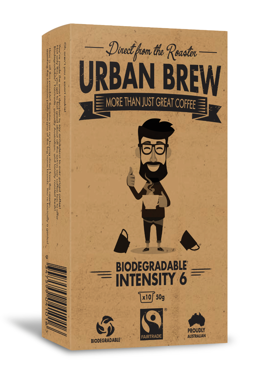 Urban Brew Very Intense #6 Nespresso Compatible pods