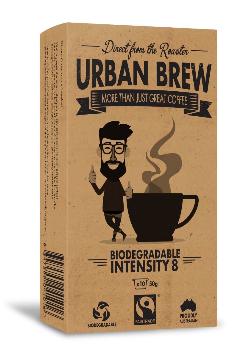 Urban Brew Very Intense #8 Nespresso Compatible pods